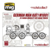Modelcollect - 1:72 German MAN KAT1M1001 8*8 HIGH-Mobility off-road truck