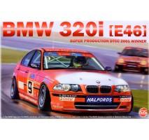 NUNU Model 24007 - 1:24 BMW 320i (E46) Super Production DTCC 2001 Winner