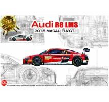 NUNU Model 24024 - 1:24 Audi R8 LMS Macau FIA GT 2015