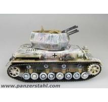 Panzerstahl - 1:72 Flakpanzer IV Wirbelwind - s.Pz.jg.Abt.654 Alsace 1945