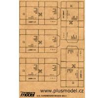 Plus Model - Cutii carton U.S. Army 1:35