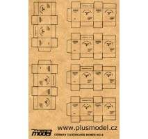 Plus Model - German Cardboard Boxes 1:35