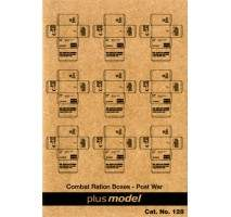 Plus Model - U.S. Cardboard Boxes - postwar period 1:35