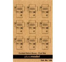 Plus Model - Cutii de carton armata americana - dupa WW2 1:35