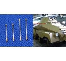 RB Model - German Vehicle Outline marker 1:35