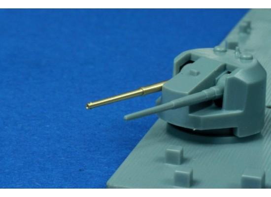 """RB Model - Metal barrel set 16 x 5.25""""/50 QF Mark I 1:350"""