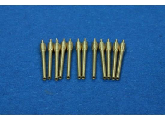 RB Model - Metal barrel set 12 x 152mm 1:350