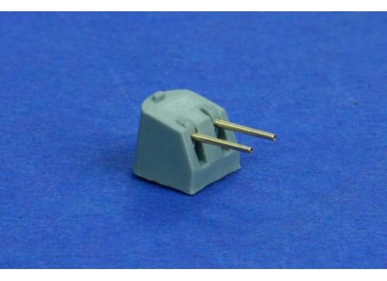 """RB Model - Metal barrel set 10 x 5""""(127mm) L/38 1:700"""