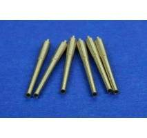 "RB Model - Metal barrel set 381mm (15"") L/42 1:700"