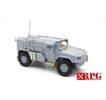 RPG MODEL 35019 - 1:35 KAMAZ K-4386 Typhoon-VDV Family (dual kit set)