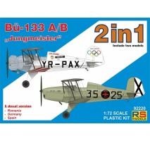 """RS Models 92220 - Bücker 133 A / B """"Jungmeister"""" 1:72"""