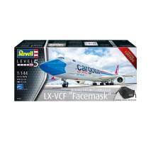 "Revell 03836 - 1:144 Boeing 747-8F CARGOLUX LX-VCF ""Facemask"""