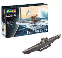 Revell 05154 - 1:350 German Submarine Type VII C/41
