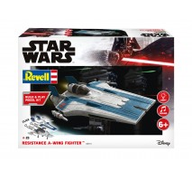 Revell 06773 - 1:44 Resistance A-wing Fighter, blue