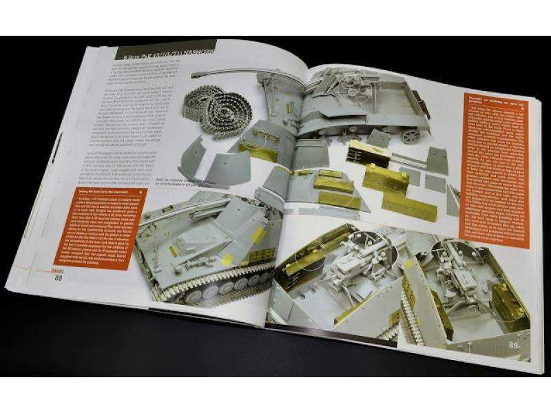 Rinaldi Studio - TANKART Vol 4 - WW2 German Armor Vol 2 (english book)