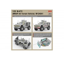Rye Field Model 5032 - 1:35 US MRAP M1240A1 M-ATV