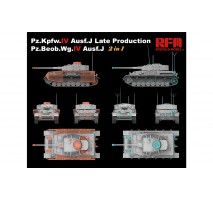 Rye Field Model 5033 -  1:35 Panzer IV Ausf. J Late