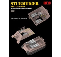 Rye Field Model 5035 - 1:35 Sturmtiger w/workable track links