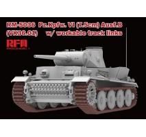 Rye Field Model 5036 - 1:35 Pz.Kpfw.VI (7,5cm) Ausf.B (VK36.01) w/ workable track links