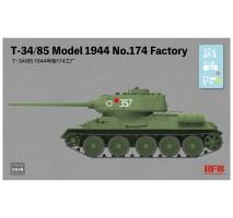 Rye Field Model 5040 - 1:35 T-34/85 Model 1944 No.174 Factory
