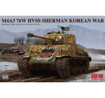 Rye Field Model 5049 - 1:35 M4A3 76w HVSS Sherman Korean war