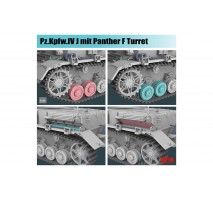 Rye Field Model 5068 - 1:35 Panzer IV Ausf. J with Panther F Turret