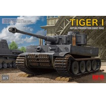 Rye Field Model 5075 - 1:35 Tiger I Initial Production Early 1943