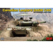 Rye Field Model 5076 - 1:35 Canadian Leopard 2A6M CAN with workable tracks