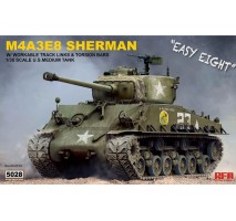 "RYE FIELD MODEL RM-5028 - 1:35 U.S. MEDIUM TANK M4A3E8 Sherman ""Easy Eight"""