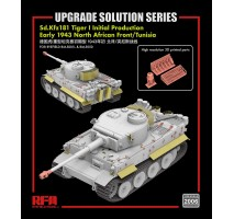 Rye Field Model 2006 - Upgrade set for Tiger I initial production