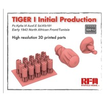 Rye Field Model 5001U - 1:35 Tiger I initial production early 1943 (Updated from 5001)