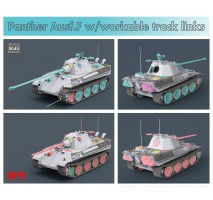 Rye Field Model 5045 - 1:35 Panther Ausf. F w/workable track links