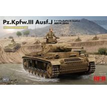 Rye Field Model 5072 - 1:35 Pz. Kpfw. III Ausf. J FULL INTERIOR
