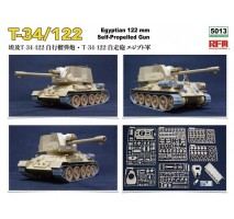 Rye Field Model 5013 - 1:35 T-34/122 'Egyptian'