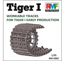 Rye Field Model 5002 - 1:35 Workable Tracks for Tiger I early