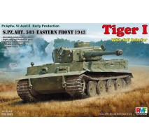 Rye Field Model 5003 -  1:35 Tiger I Early Production (FULL INTERIOR)