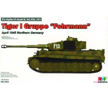 "Rye Field Model 5005 -  1:35 Tiger I Gruppe ""Fehrmann"" April 1945"