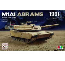 Rye Field Model 5006 -  1:35 M1A1 Abrams Gulf War 1991