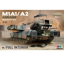 Rye Field Model 5007 -  1:35 M1A1 / A2 Abrams with Full Interior 2in1