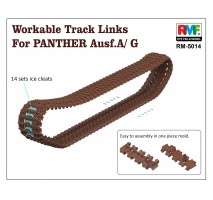 Rye Field Model 5014 - 1:35 Workable Tracks for Panther A/G