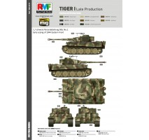 Rye Field Model 5015 -  1:35 Tiger I Late Production