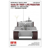 Rye Field Model 5017 - 1:35 Workable Tracks for Tiger I Late