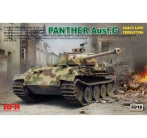 Rye Field Model 5018 -  1:35 Panther Ausf. G Early/Late Production