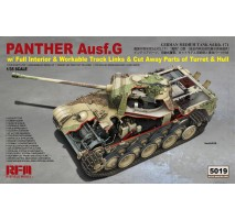 Rye Field Model 5019 -  1:35 Panther Ausf. G - cut away - full interior