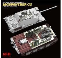 Rye Field Model 5022 - 1:35 Jagdpanther G2 - full interior