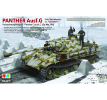 Rye Field Model 5016 - 1:35 Panther Ausf. G - early or late, full interior