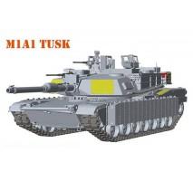 Rye Field Model 5004 - 1:35 M1A2 Abrams TUSK I / TUSK II / M1A1 3in1