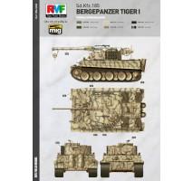 Rye Field Model 5008 - 1:35 Bergepanzer Tiger I