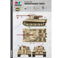 Rye Field Model 5008 -  1:35 Bergepanzer Tiger I