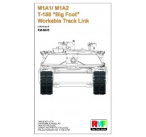 "Rye Field Model 5009 - 1:35 Workable Tracks for M1A1/M1A2 T-158 ""Big Foot"""